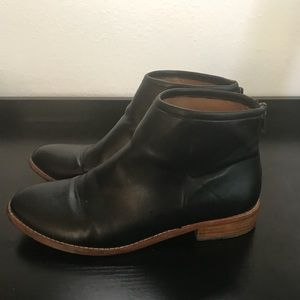 Urban Outfitter's Black Poppy Bootie